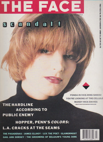 The Face Magazine - July/August 1988 - Bridget Fonda