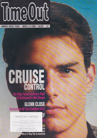 Time Out Magazine - Tom Cruise
