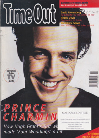 Time Out Magazine - Hugh Grant