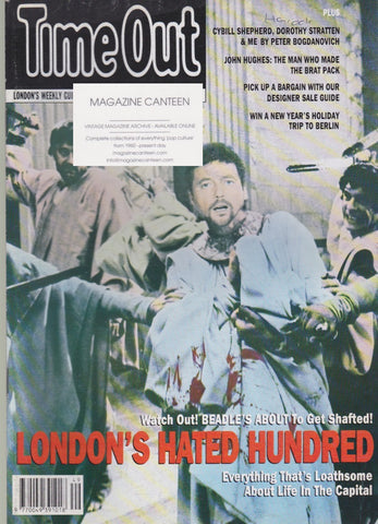 Time Out Magazine - Jeremy Beadle
