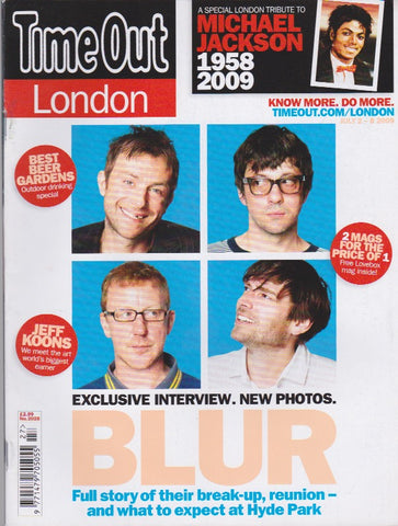 Time Out Magazine - Blur