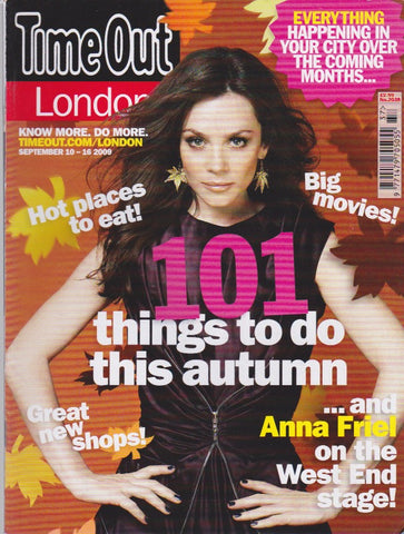 Time Out Magazine - Anna Friel