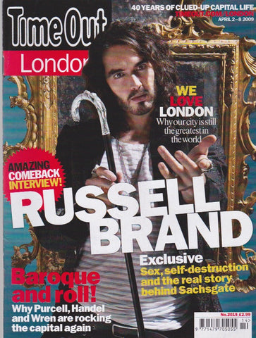 Time Out Magazine - Russell Brand