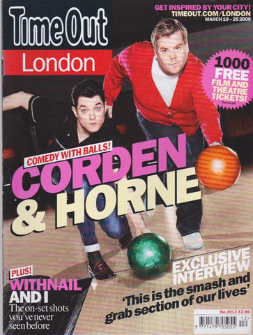 Time Out Magazine - James Corden and Mat Horne