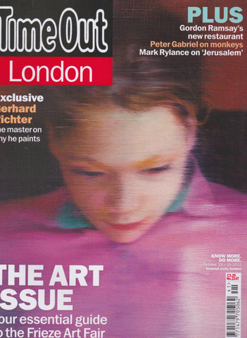 Time Out Magazine - Gerhard Richter