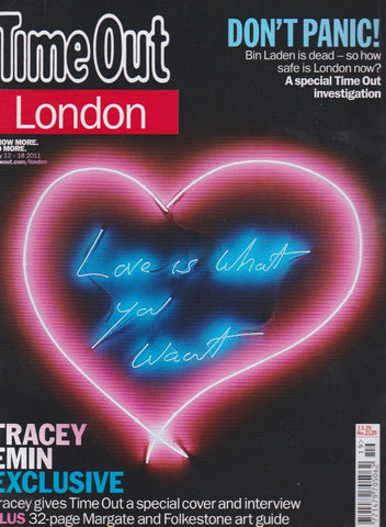 Time Out Magazine - Tracey Emin