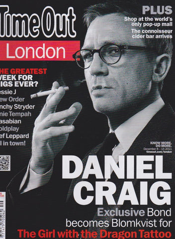 Time Out Magazine - Daniel Craig