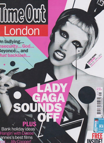 Time Out Magazine - Lady Gaga