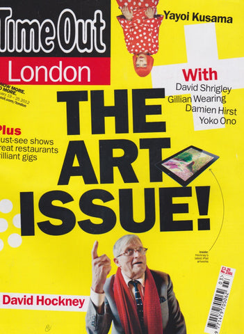 Time Out Magazine - David Hockney