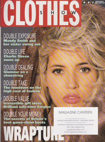 Clothes Show Magazine - Mandy Smith - Leigh Bowery