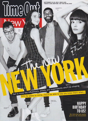Time Out Magazine - NY - Joseph Gordon Levitt
