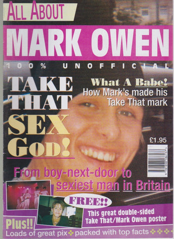 Take That 6 x poster special supplements REF1055