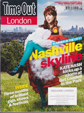 Time Out Magazine - Kate Nash