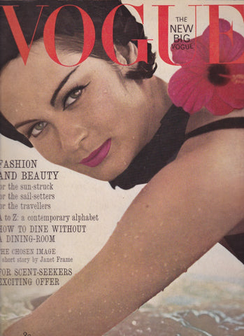 Vogue Magazine -  July 1963 - Henry Clarke