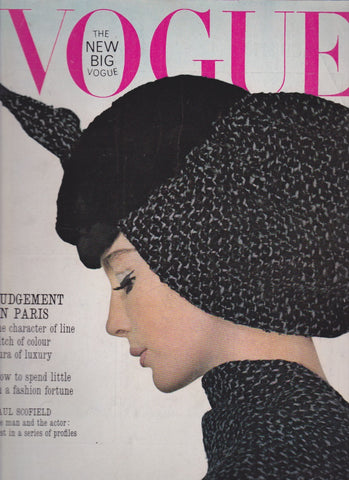 Vogue Magazine -  September 1963 - Henry Clarke
