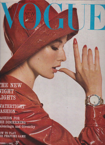 Vogue Magazine -  October 1963 - Brian Duffy