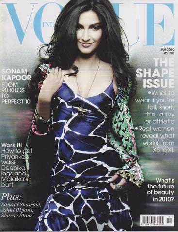 Vogue India Magazine - Sonam Kapoor