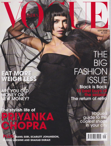 Vogue India Magazine - Priyanka Chopra