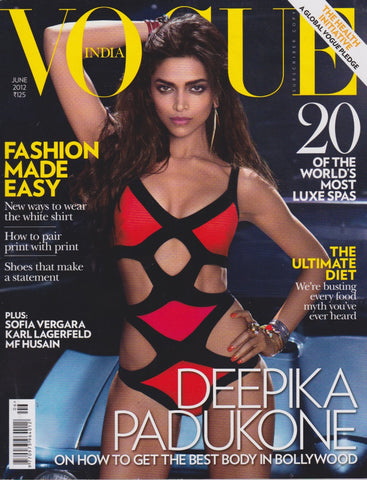 Vogue India Magazine - Deepika Padukone