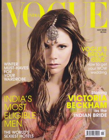 Vogue India Magazine - Victoria Beckham