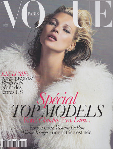 Vogue Paris Magazine - Kate Moss
