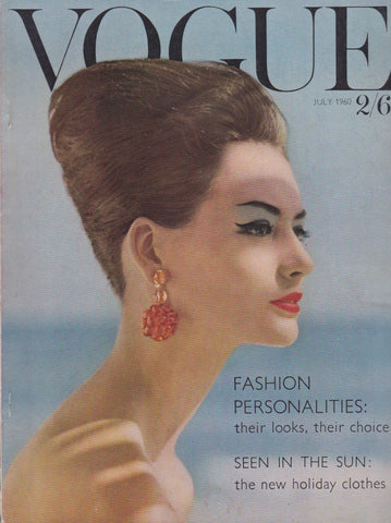 Vogue Magazine -  July 1960 - Leombruno Bodi