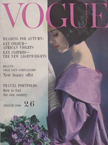 Vogue Magazine -  August 1960 - Don Honeyman