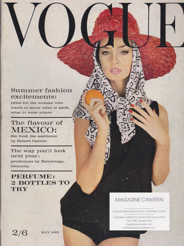 Vogue Magazine -  May 1962 - Carapetian
