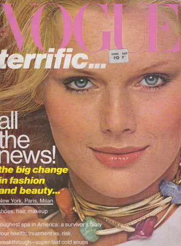Vogue USA Magazine - July 1977 - Patti Hansen