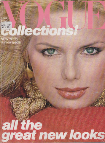 Vogue USA Magazine - September 1977 - Patti Hansen