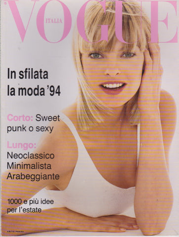Vogue Italia Supplement - 521 - Linda Evangelista