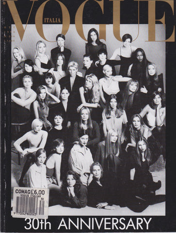 Vogue Italia Magazine - Kate Moss and others