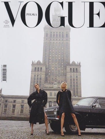 Vogue Poland Magazine - Anja Rubik