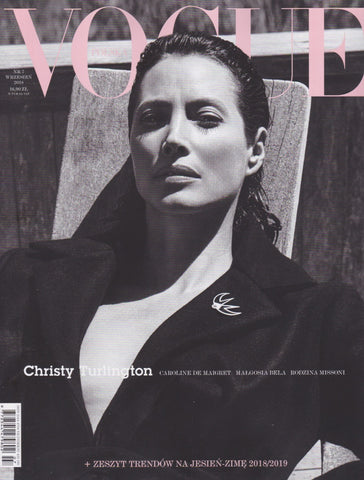 Vogue Poland Magazine - Christy Turlington