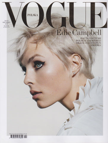 Vogue Poland Magazine - Edie Campbell