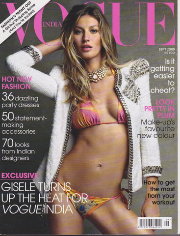 Vogue India Magazine - Gisele Bundchen
