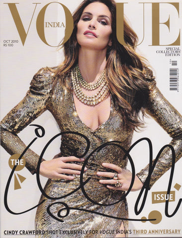 Vogue India Magazine - Cindy Crawford