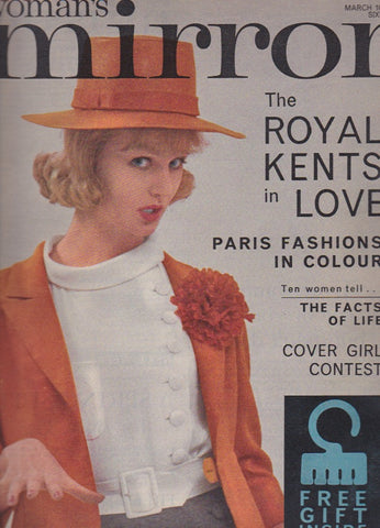 Woman's Mirror Magazine - 1962 Sue Kinnear