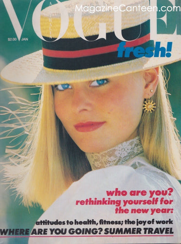 Vogue Australia Magazine - January 1981