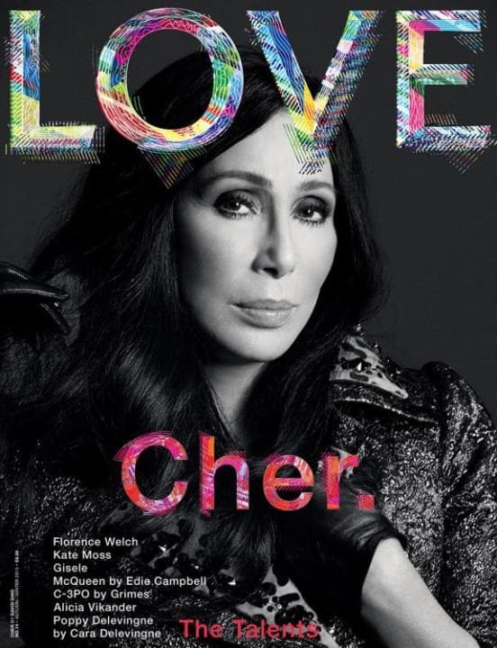 Love Magazine Issue 14. Cher