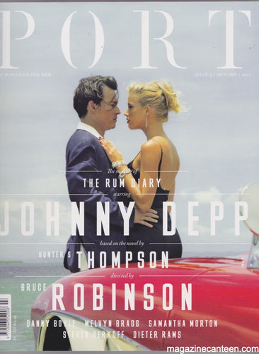 Port Magazine 3. Johnny Depp