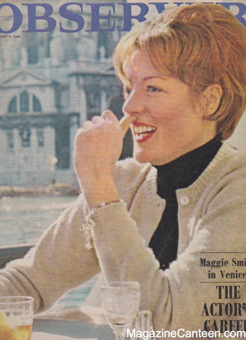 The Observer Magazine 1966 - Maggie Smith