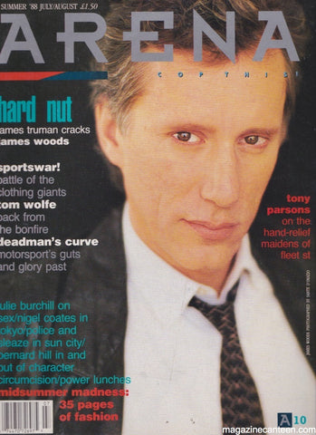 Arena Magazine 10. James Woods