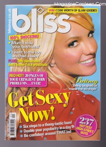 Britney Spears - Bliss Magazine McFly