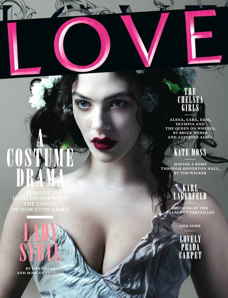 Love Magazine Issue 8 Jessica Brown Findlay Lady Sybil