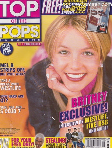 Top Of The Pops Magazine  67 - Britney Spears