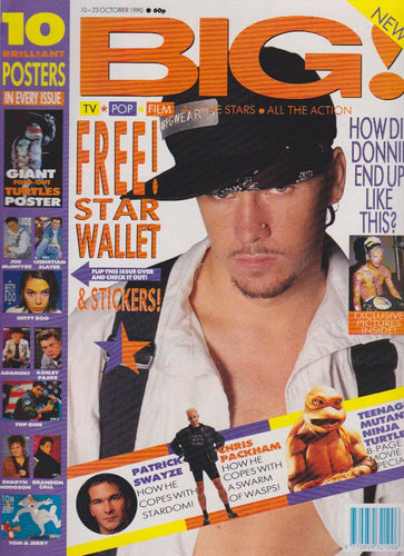 Big Magazine - Donnie Wahlberg