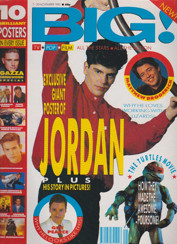 Big Magazine - Jordan New Kids On The Block