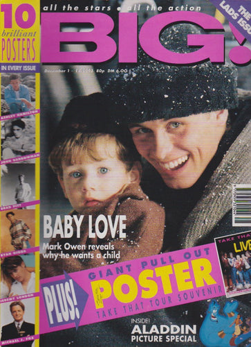 Big Magazine - Mark Owen Take That