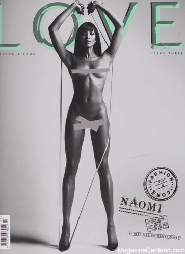 Love Magazine Issue 3 Naomi Campbell